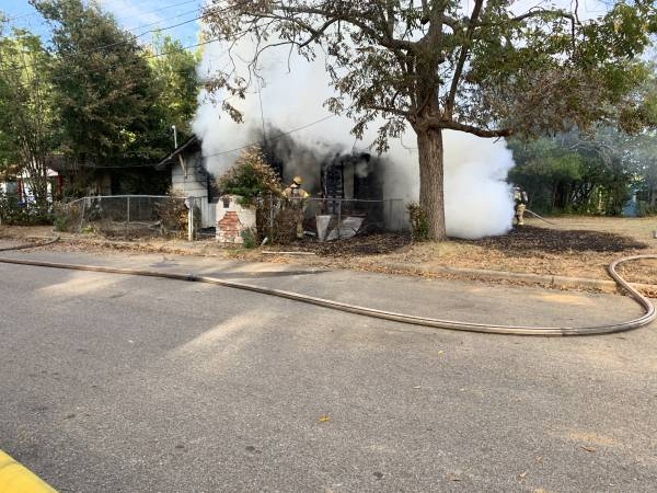 5:51 PM    Working Structure Fire 702 Hutchins Street in Dothan