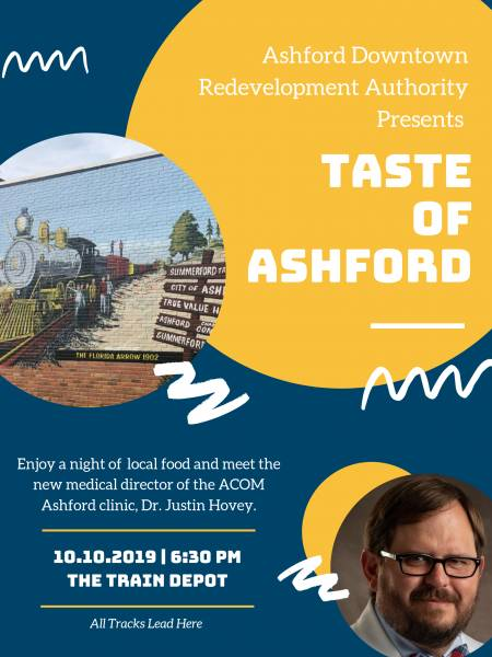 Meet and Greet with Clinic Director Dr. Just Hovey and Taste of Ashford Event