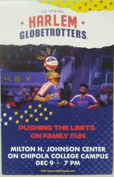 Harlem Globetrotters @ Chipola on Dec. 9th