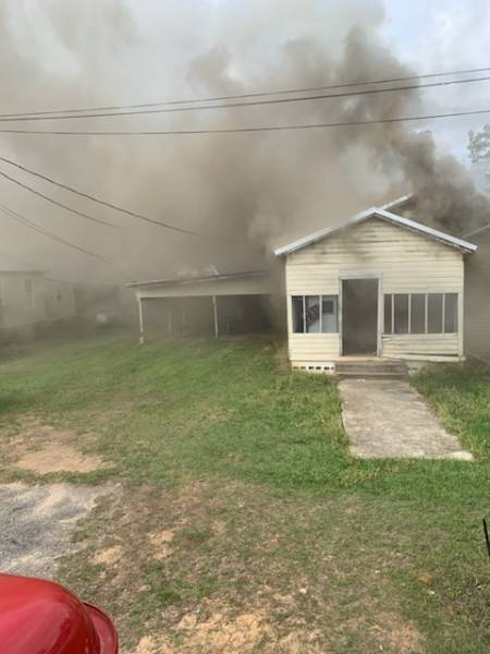 Columbia Structure Fire On South Washington Street