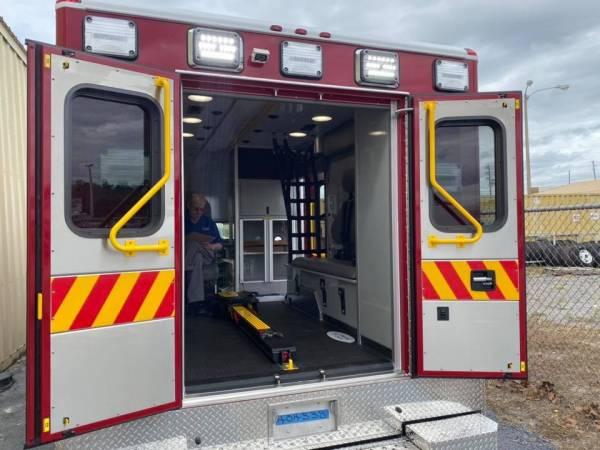 Headland Fire - Rescue Gets New Ambulance