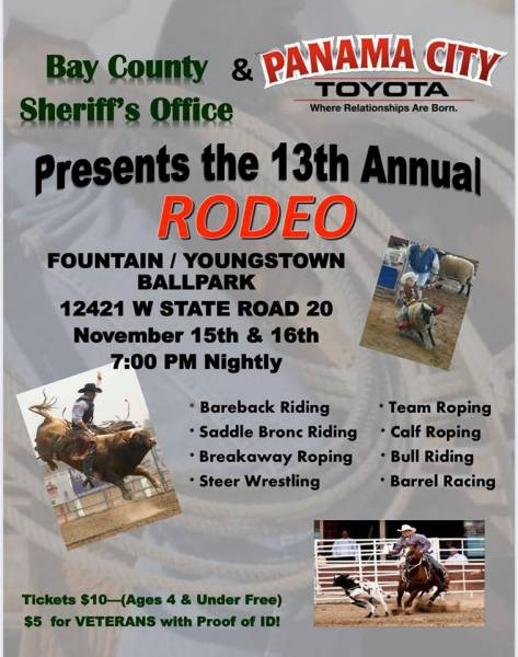 Bay County Sheriff's Office for their 13th annual Rodeo