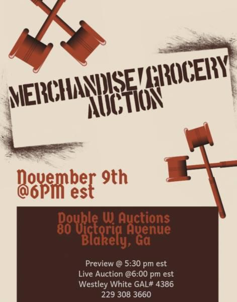 Auction Set for November 9th