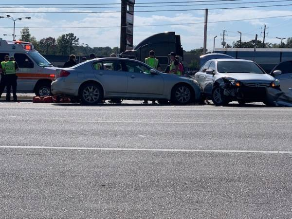 12:31 PM.. Motor Vehicle Accident at Montgomery Hwy and Westgate