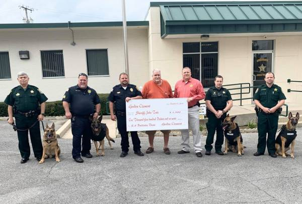 Local K-9's Gifted with Ballistic Vest