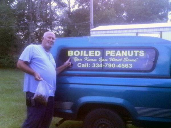 The Big Game This Saturday . You Know You Want Some Fresh  Green Boiled Peanuts .