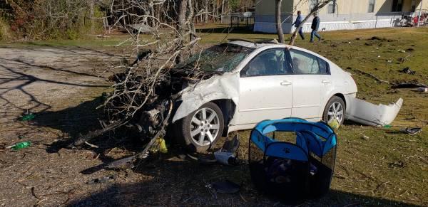 8:13 AM... Vehicle Overturned on Malvern Road