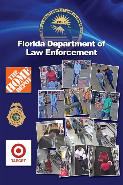 FDLE Arrests Three for Multi-State Crime Spree