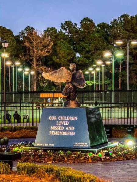 Remembering The Children Who Are No Longer With Us At The Angel Of Hope