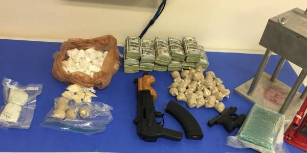 Arrest made for Trafficking in Cocaine