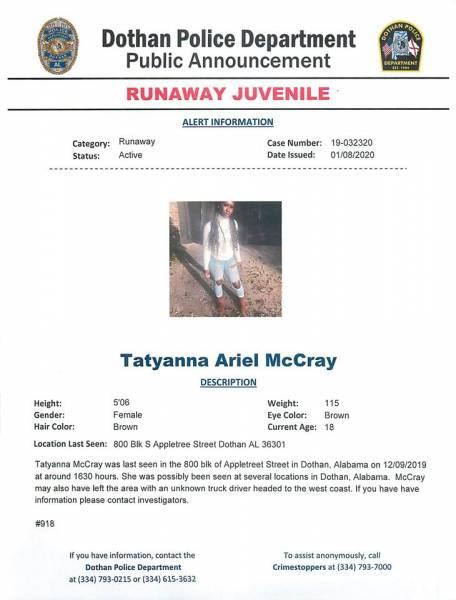 Dothan Police Needs Your Help Locating a Second Run Away Juvenile