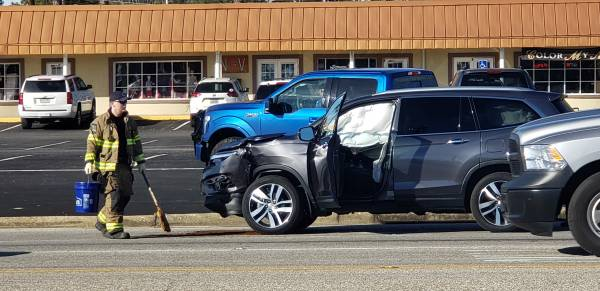 9:08 AM.. Motor Vehicle Accident in the 100 Block of Westgate