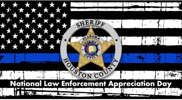 Today is National Law Enforcement Appreciation Day