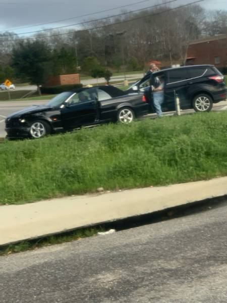 2:55 PM.  Motor Vehicle Accident With Injuries Fortner and Ross Clark Circle