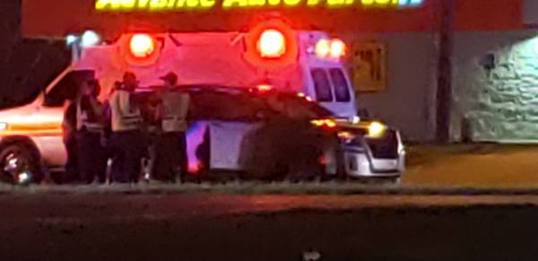 5:33 PM..  Motor Vehicle Accident at the Circle and Timbers