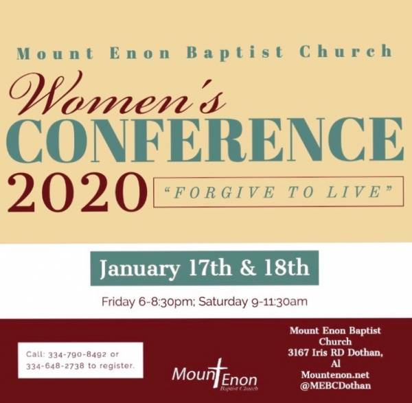 Mount Enon Baptist Church Women's Conference 2020