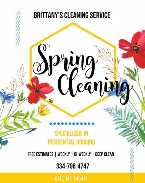Spring Cleanings