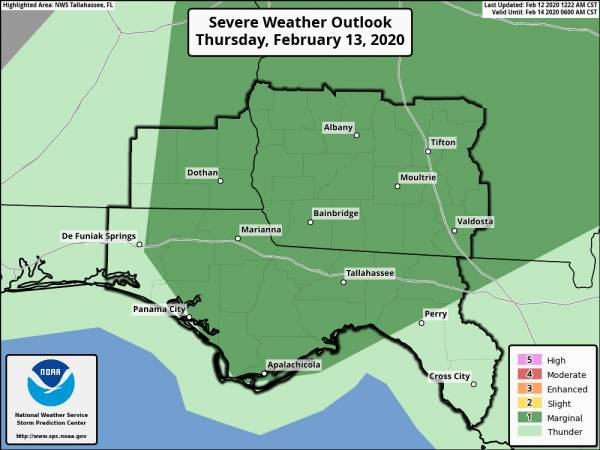 Severe Weather Potential Thursday