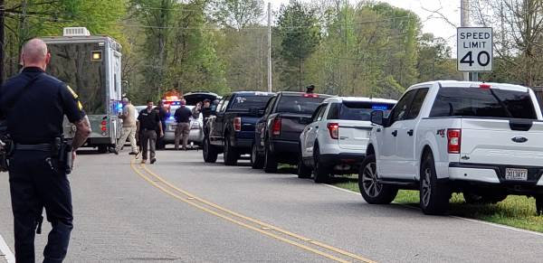 UPDATED at  4:07 PM...DEVELOPING AND STAND OFF   Firearm Assault on Hatton Drive