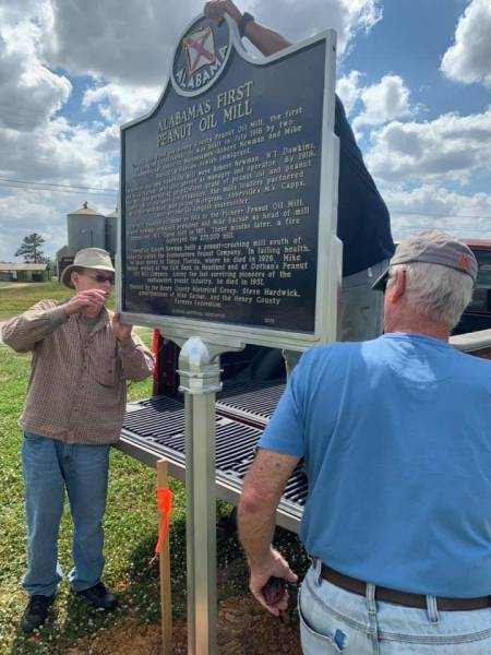 Alabama's First Peanut Oil Mill 104 Years Ago