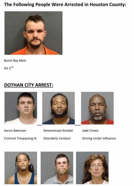 Houston County Mugshots