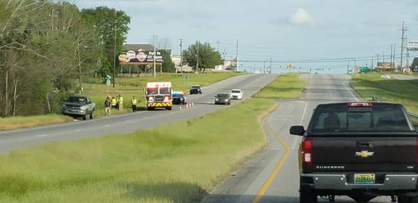 5:14 PM.. Motor Vehicle Accident at Montgomery Hwy and Horace Shepard Road
