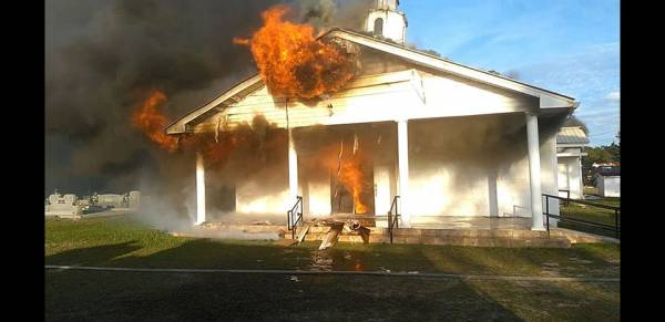 100 Year Old Church Destroyed by Fire