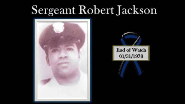 Remembering Lieutenant Robert Jackson - Dothan Police Department Killed in the line of Duty