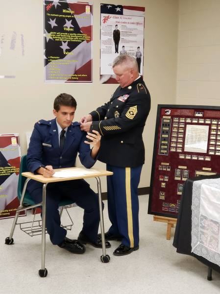 Private Commissioning Ceremony held for Samford University Fellow and Graduate