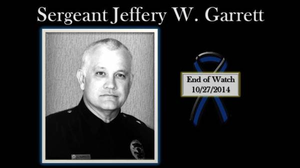 Dothan Police Sgt. Jeffery Garrett Died in the Line of Duty