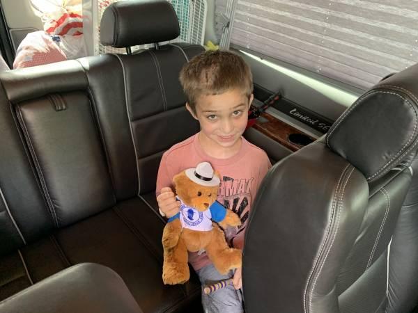 4:28 PM.   Brantley Bradley Released From Children's Hospital