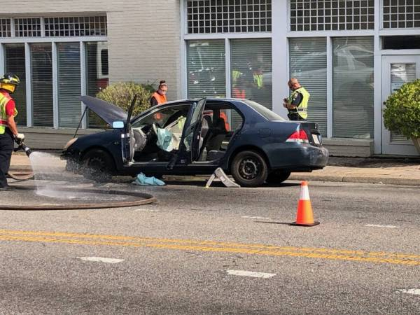 4:25 PM... Motor Vehicle Accident at Main and Foster