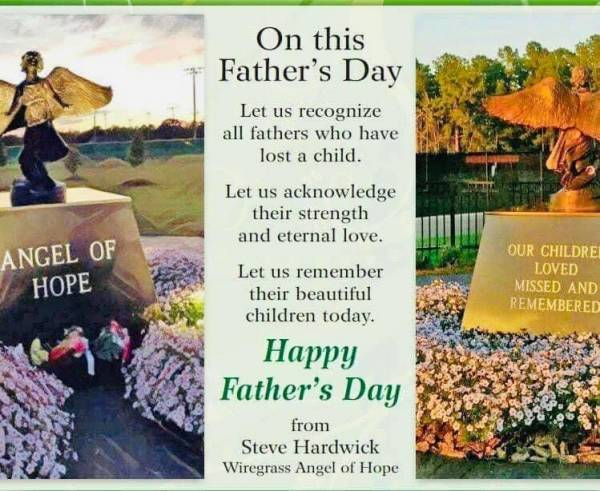 For many Dad's Father's Day is a very sad day