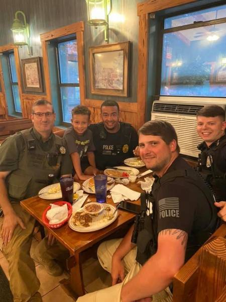 Geneva County - Young Man Bought Law Officers Dinner