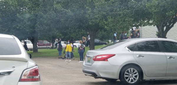 UPDATED @ 10:35 AM.  09:30 AM.   Walmart South Evacuated