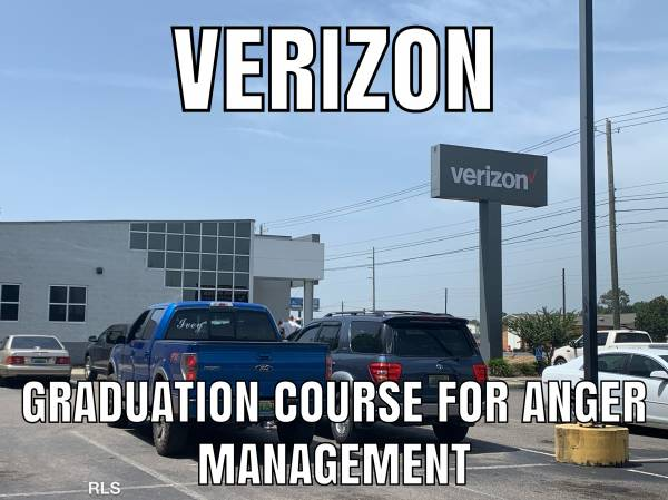 VERIZON DOTHAN - An Example of when corporate does not care about the customer