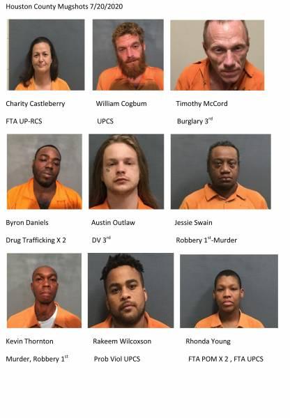 Update 10:15 Dothan City Mugshots /Houston County Mugshots 7/20/2020