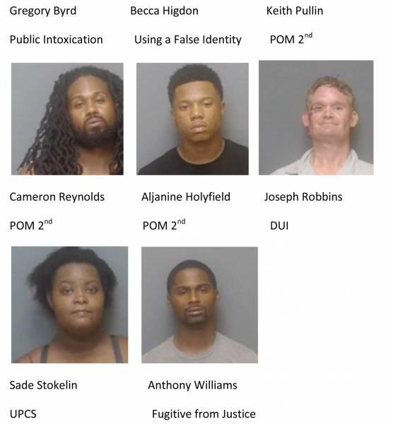 Houston County Mugshots 7/30/2020