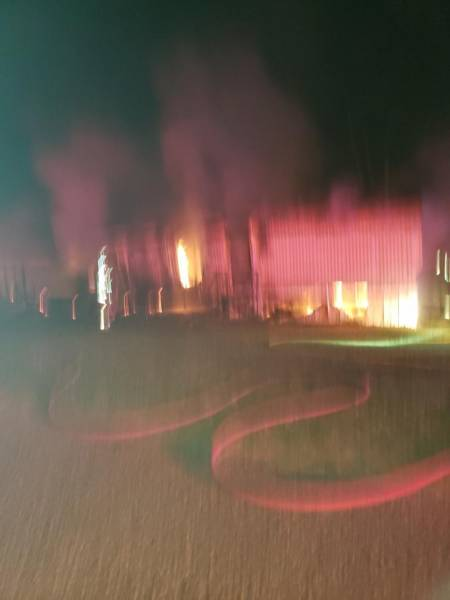 01:59 AM.     Pansey Road Structure Fire