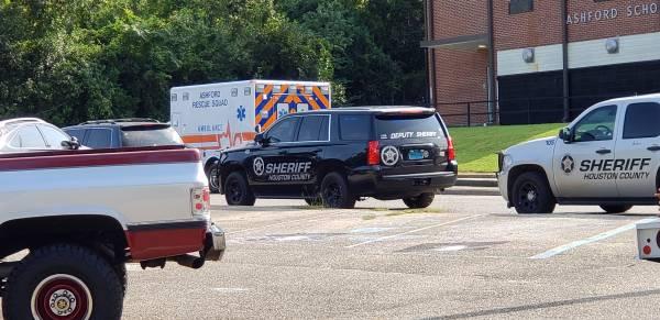 UPDATED @ 11:17 AM.   Fight at Ashford High School gets a Resource Deputy Responds
