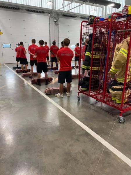 Slocomb Firefighters - Two Slocomb Firefighters Hired By Dothan Fire - Others Start Fireman Rookie School
