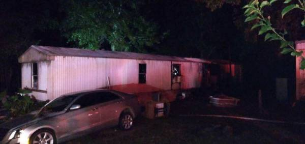 9:58 PM.  Working Structure Fire on Geneva County Road 81