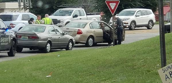 1:35 PM... Minor Motor Vehicle Accident at East Main and he Circle