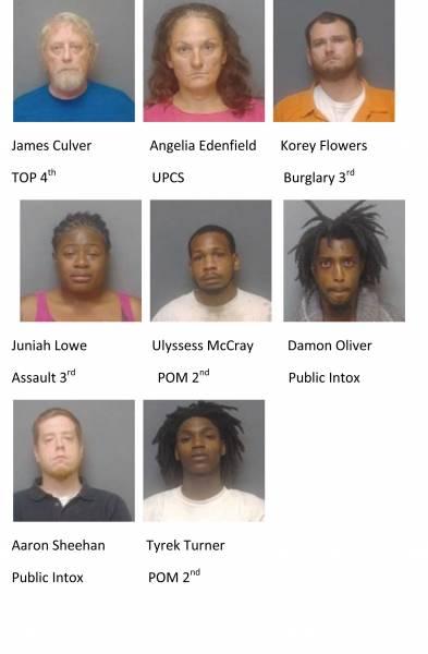 Houston County / Dothan City Mugshots 10/6/2020