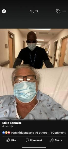 Hospital To Mike Schmitz - Time To GO.  GO.  GO