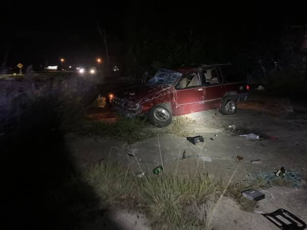 12:54 AM.  Single Vehicle Accident Hwy. 231 In Dale County