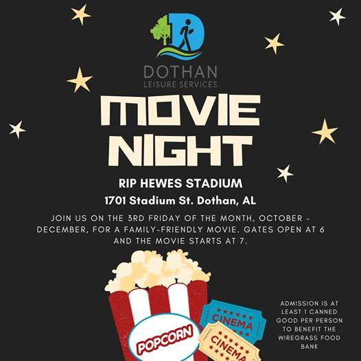 Dothan Leisure Services Movie Night