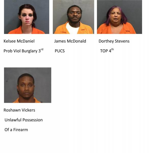 UPDATED at 11:22 AM... Houston County Mugshots 10/13/2020