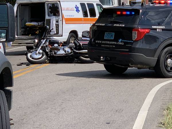 Trauma Motorcycle Accident Highway 52 East At Beverlye Road