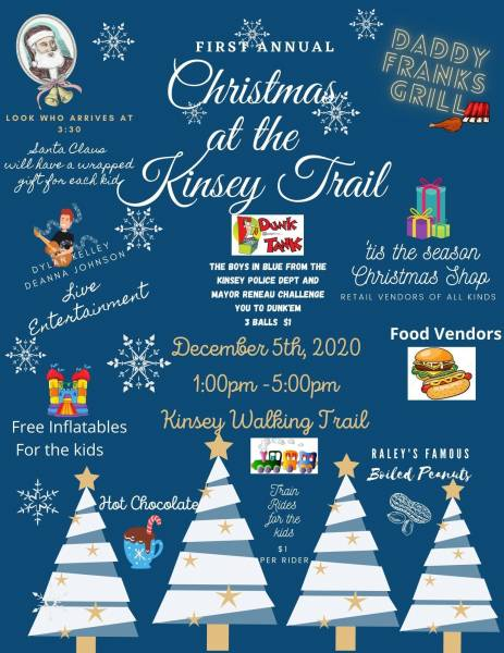 First Annual Christmas at the Kinsey Trail